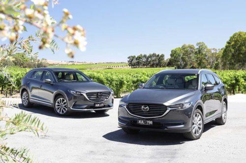 2019 Mazda CX-8 Asaki v Mazda CX-9 GT Comparison
