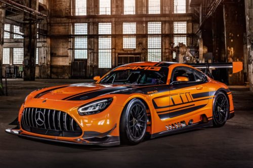 Mercedes-AMG GT3 racer upgraded