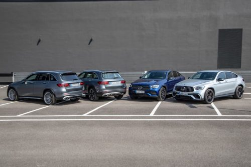 Upgraded Mercedes-Benz GLC to dump diesel