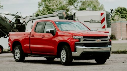 The 2019 Chevy Silverado hints at future autonomous trucks in one specific way
