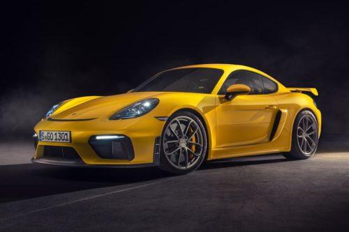 Porsche Cayman GT4 and Boxster Spyder revealed