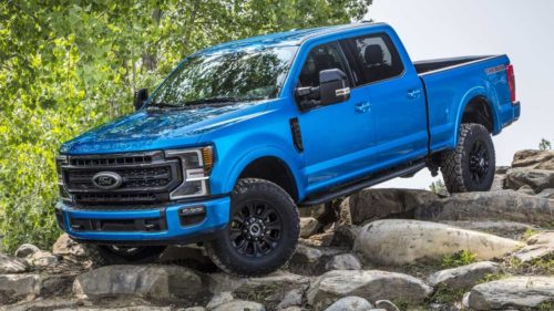 2020 Ford F-Series Super Duty Tremor off-road package debuts