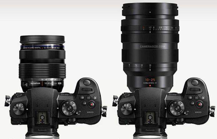 Size Comparison – Panasonic 10-25mm vs Olympus 12-40mm