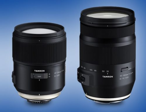 Tamron SP 35mm f/1.4 Di USD Lens Officially Announced