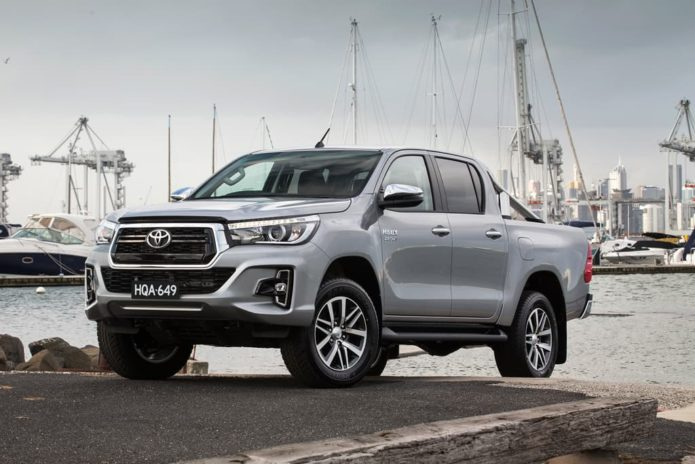 Toyota HiLux safety upgraded