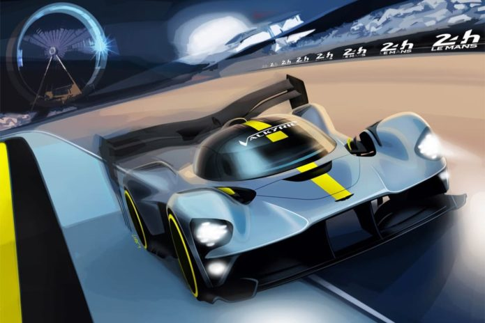 MOTORSPORT: Aston Martin Valkyrie for Le Mans
