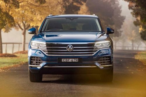 2019 Volkswagen Touareg limited to one engine… for now
