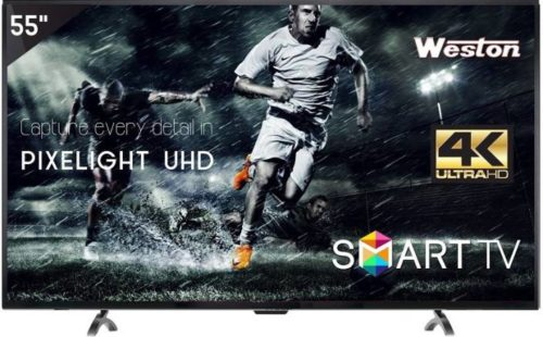 WESTON 55 INCH ULTRA HD 4K LED SMART TV REVIEW