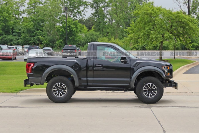 What the Heck Is This Funky Ford F-150 Raptor Test Mule?