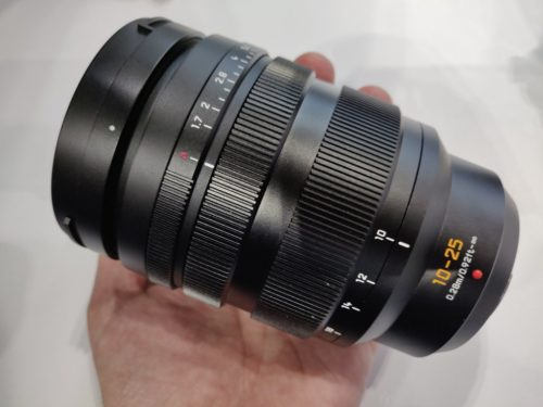 Hands-on with Panasonic's 10-25mm F1.7 Micro Four Thirds lens