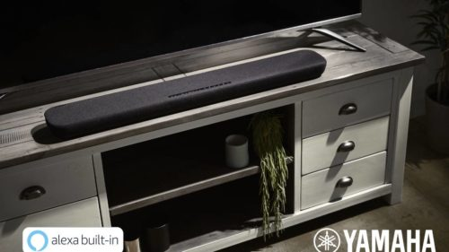 Yamaha YAS-109 and YAS-209 TV sound bars have Alexa built-in