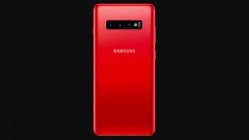 Samsung Galaxy S10 now on sale in red, but you probably won't be able to buy it