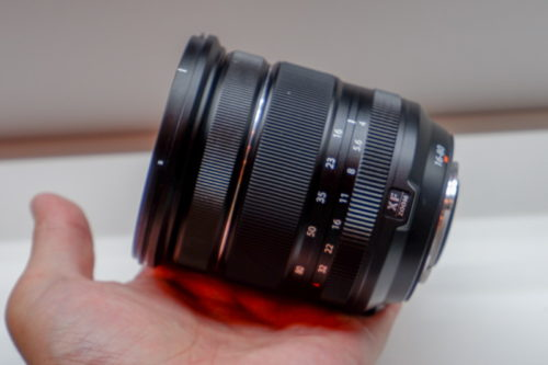 Images of Fujinon XF16-80mm f/4 R OIS WR and GF50mm f/3.5 R LM WR lenses emerge