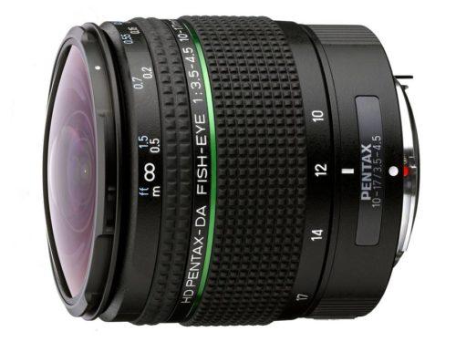 HD Pentax-DA Fisheye 10-17mm f/3.5-4.5 ED Lens Announced