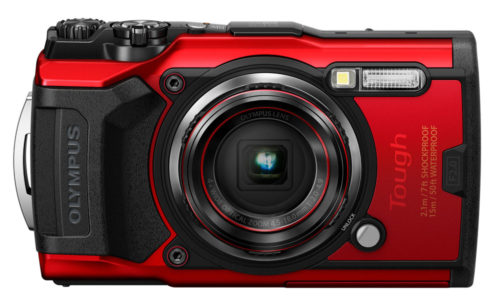 Olympus Tough TG-6 Red Version