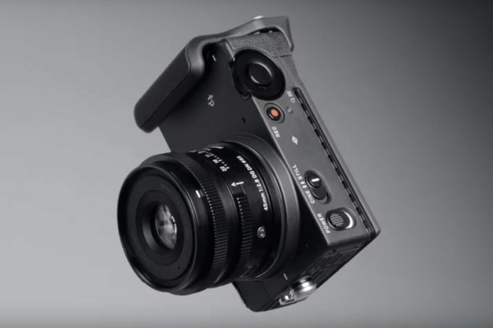 Hands-on with new Sigma 'fp' - a compact, full-frame, L-mount mirrorless camera