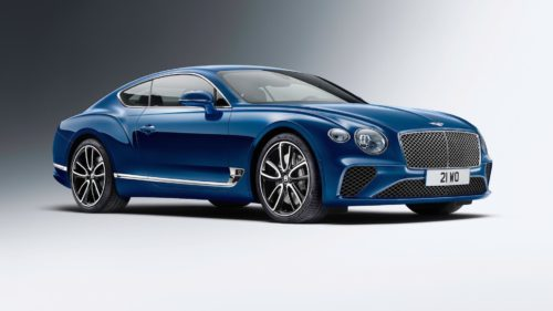 Bentley Continental GT smashes production-car record at Pikes Peak