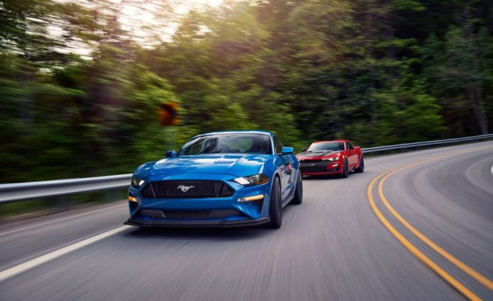 2019 Chevrolet Camaro SS 1LE vs. 2019 Ford Mustang GT Performance Pack Level 2 Comparison