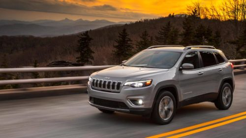 The ultra-sensitive sensors on the 2019 Jeep Cherokee work like a charm