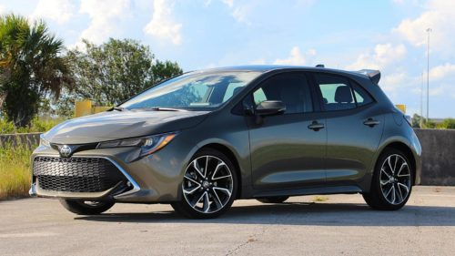 2019 Toyota Corolla XSE Hatchback review
