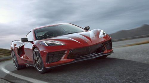 This is the 2020 Corvette Stingray C8