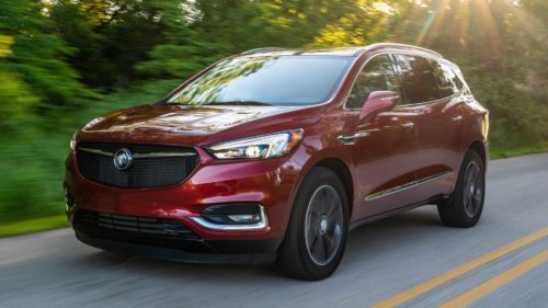 2020 Buick Enclave three-row crossover will give you a back massage