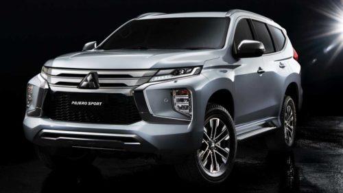 2020 Mitsubishi Pajero Sport Gets Fresh Face, Updated Interior