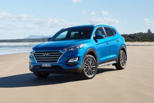 Safety updates for 2020 Hyundai Tucson