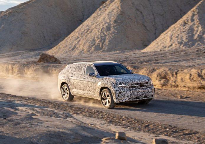 2020 Volkswagen Atlas Cross Sport Prototype Is a Familiar Mid-Size SUV