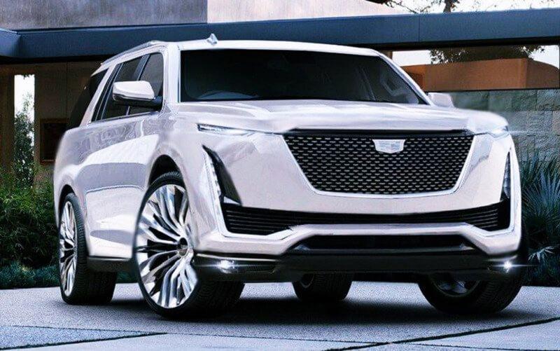 2021 Cadillac Escalade's Interior Spied for Real | GearOpen