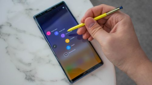The Samsung Galaxy Note 10 launch invite hints at new central selfie camera