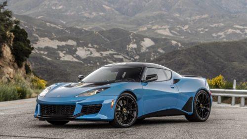 The 2020 Lotus Evora GT has one big advantage over the Evija hybrid hypercar