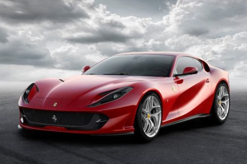 Ferrari 812 Superfast Spider due September