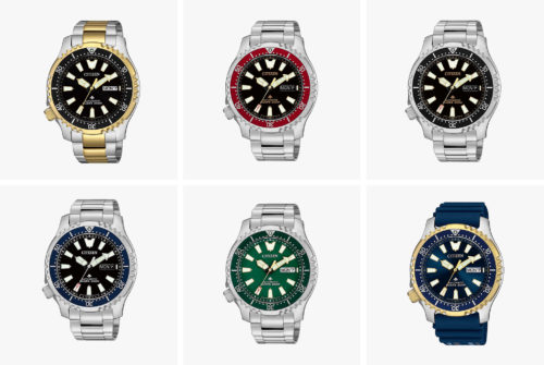 Citizen Has Announced a Range of New Affordable, Automatic Dive Watches