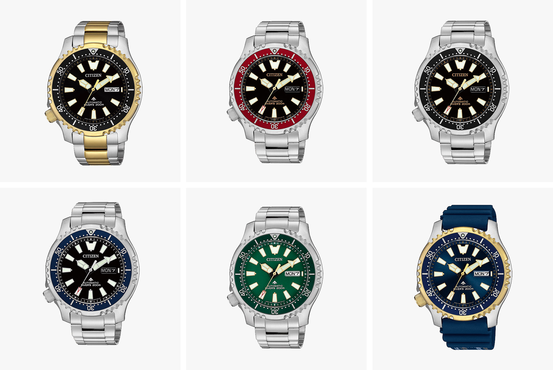 Citizen Has Announced a Range of New Affordable, Automatic ...