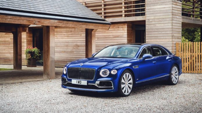 Bentley Debuts Flying Spur first edition at Elton John AIDS Foundation gala