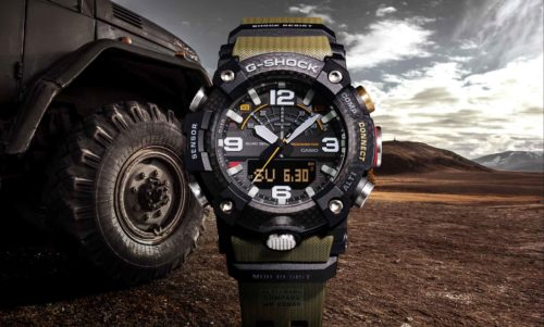 Casio's G-Shock Mudmaster is a tough hybrid with smart outdoor features