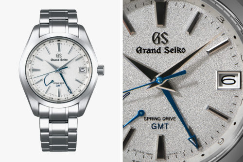 Grand Seiko's New Limited-Edition GMT Watch Is Icy Cool