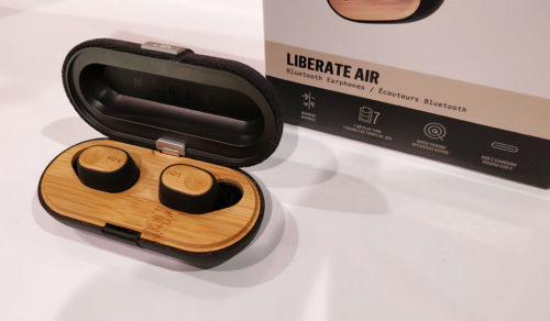 The House of Marley Liberate Air are eco-friendly true wireless earbuds