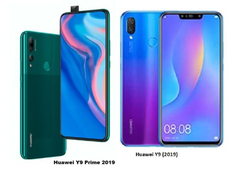 What's Different: Huawei Y9 2019 VS Y9 Prime 2019