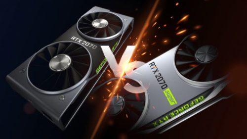 Nvidia GeForce RTX 2070 Super vs RTX 2070
