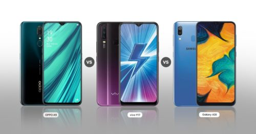 OPPO A9 vs Vivo Y17 vs Samsung Galaxy A30: Which One Should You Go For In Under Rs 20k Segment?