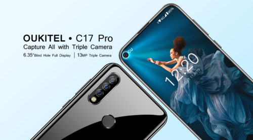 Oukitel C17 Pro with triple camera coming soon for just $139.99