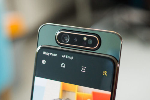 Samsung Galaxy A80's new software update brings autofocus for selfies