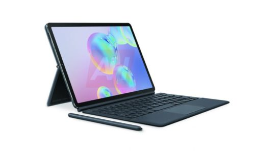 Samsung Galaxy Tab S6 new renders show second front-facing sensor