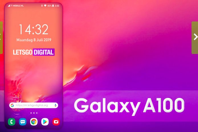 The World's First True Zero Bezel Phone May Be the Galaxy A100