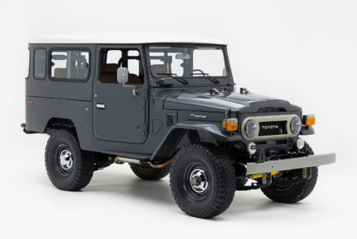 This Limited-Edition Land Cruiser Has a Red Wing Leather Interior