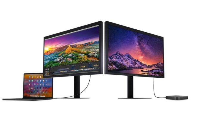 LG UltraFine 27″ 5K and 24″ 4K Monitors are also made for iPad Pros