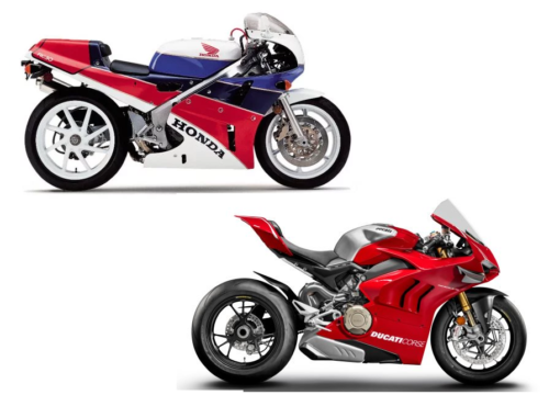 Honda RC30 And Ducati V4R: State-Of-The-Art 30 Years Apart