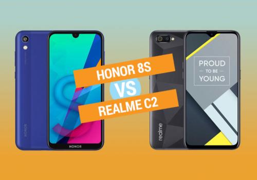 Honor 8S vs Realme C2 Specs Comparison